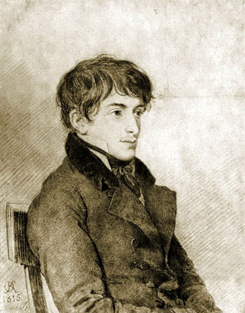 Никита Муравьёв. худ. О.Кипренский. 1815